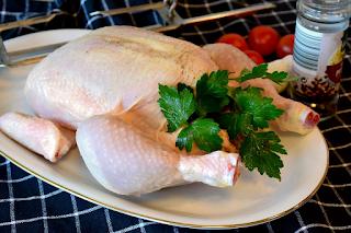 طريقة تقطيع الدجاج