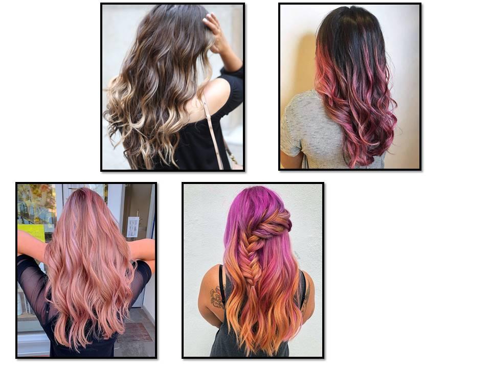 طريقة سحب لون الشعر بالميش